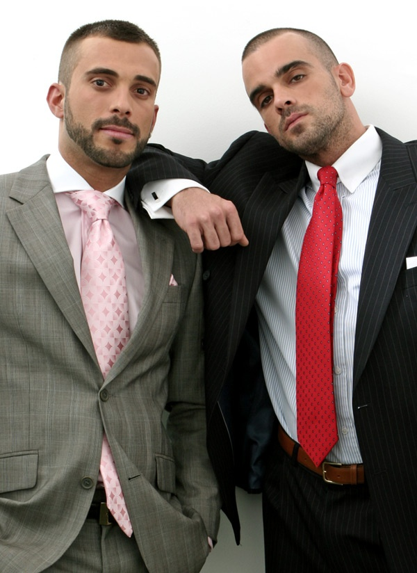 image Gay piss on suit and tie we think they need